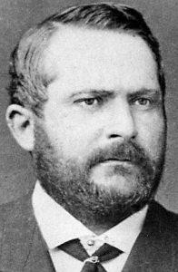 Portrait d'Alfred Gérard (Gravure)