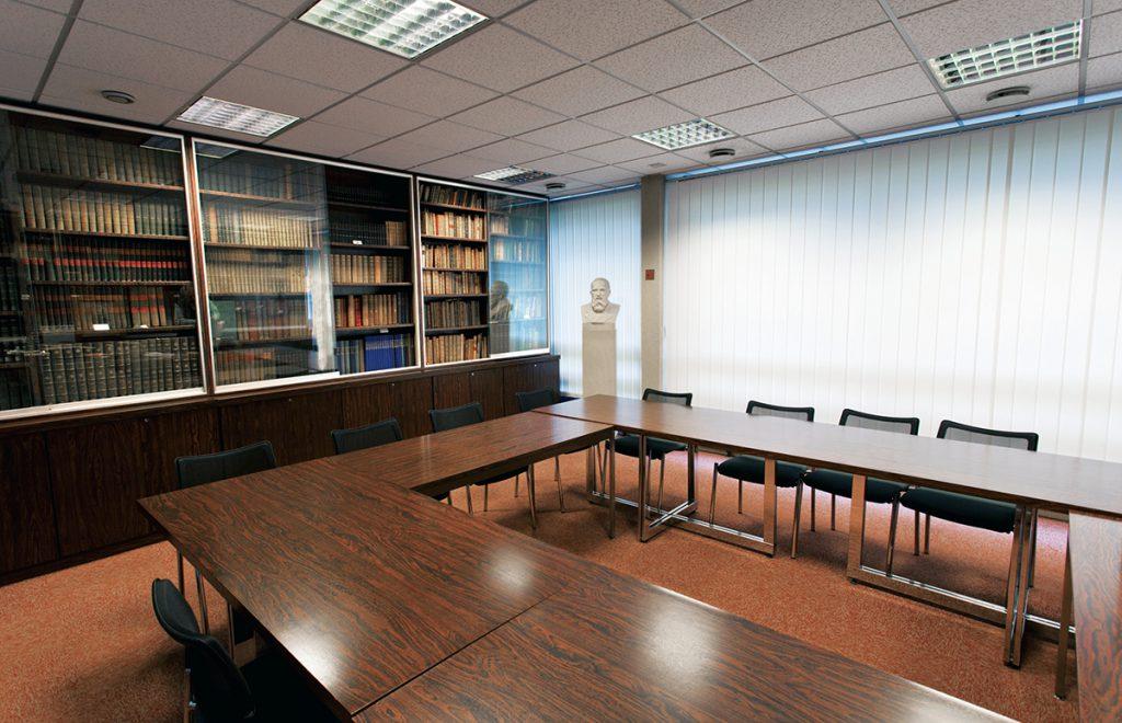 Salle de réunion de la Bibliothèque de la Fondation Alfred Gérard